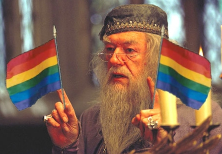 Dumbledore is gay!