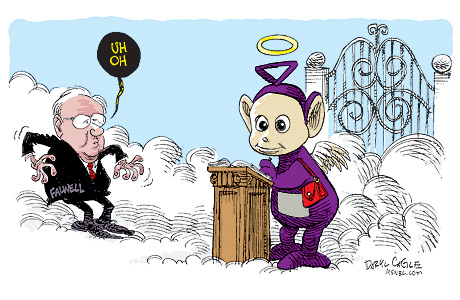 Time Magazine's Top 10 Cartoon of the Year 2007