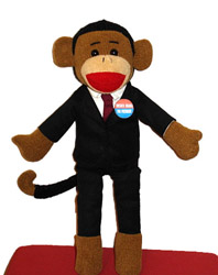 Sock Monkey Obama