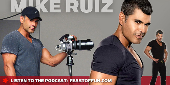 Photographer Mike Ruiz talks about being gay, celebrities.