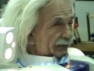 Creepy Albert Einstein Japanese Robot