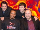 Samuel R. Galloway, Marc Felion, Keith Green, Fausto Fernós and Gary Harper
