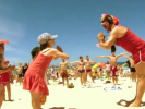 Adorable Flash Mob with Drag Queen and Children