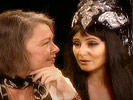 Roseanne Barr Interviews Cher and Chaz