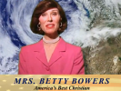 Mrs. Betty Powers: Less is Mormon!