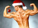 Santa's been working out