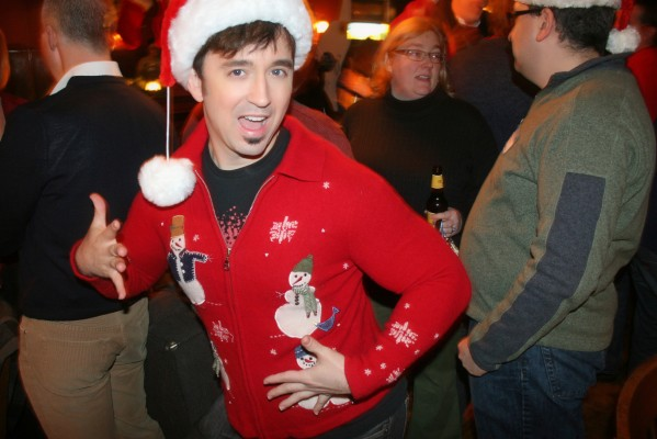 IMAGE: Gay Bar in Portland Uses Photo of Fausto Fernós in Ugly Christmas ...