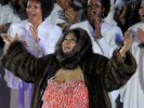 Is it Aretha or an Elephant Seal?