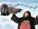 PHOTOSHOP CONTEST: Aretha Franklin's Walrus Coat