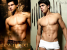 PHOTO: Taylor Lautner's New Moon Poster Photoshopped Abs from Another Model