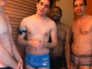VIDEO: Guys in their Underwear Wish Fausto a Happy Birthday