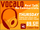 Listen to Feast of Fun on Vocalo- Updated