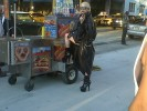 Lady Gaga at a Hot Dog Stand