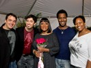 PHOTO: Patti Labelle with Marc Felion, Fausto Fernós, Samwell and Friend