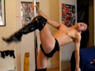 VIDEO: Hot Young Man Dancing With Stripper Pole