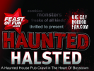Haunted Halsted Pub Crawl