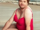 Zach Galifianakis in Vanity Fair Swimsuit Calendar