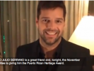 VIDEO: Ricky Martin Presents Award to Puerto Rican Gay Activist
