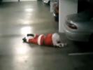 VIDEO: Drunk Santa