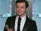 Glee's Chris Colfer, Jane Lynch Win at the Golden Globes