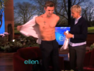 VIDEO: A Shirtless Alex Pettyfer on Ellen