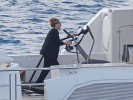 PHOTO: Barbara Streisand Working Out on Her Yacht