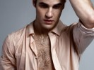 Darren Criss Wet and Hairy