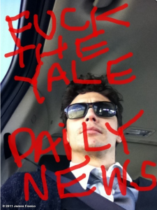 James Franco learned to write from Perez Hilton.