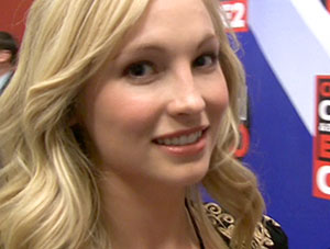 VIDEO: How do Vampires Practice Safe Sex? Interview with The Vampire Diaries Candace Accola