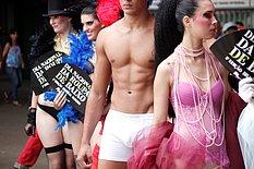National Underwear Day in Brazil!!