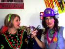 VIDEO: Celebrating Mardi Gras With Damiana Garcia and Tanya Roberts