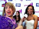 Damiana Hits the Red Carpet at the 2011 GLAAD Awards