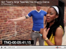 Go! Team'S Ninja Teaches You How to Dance