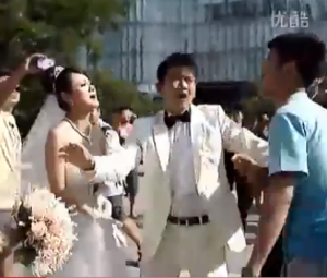 VIDEO: Chinese Bride Discovers That Groom is Gay When Confronted by His Boyfriend