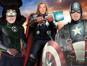FOF #1418 - All My Favorite Superheroes Wear Tights - 07.25.11