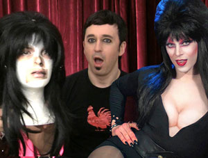 VIDEO: Elvira's Wig Auction, Drag Queens & Divas, That's Gay