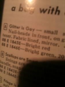 Glitter is Gay