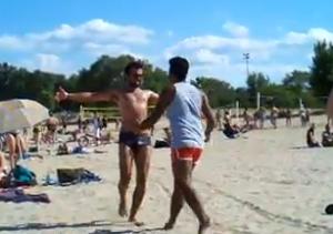 VIDEO: Hollywood Beach Becomes Bollywood Beach