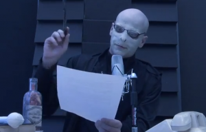 VIDEO: Voldemort Does the Morning Announcements