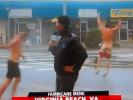 VIDEO: Hurricane Irene Streaker