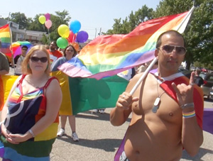 VIDEO: The World's Smallest Pride Parade