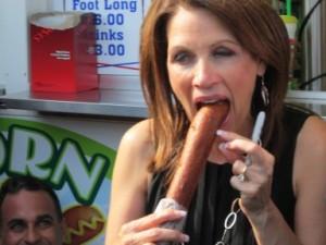 Santorum and Bachmann Take in Tasty Treats