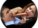 IMAGE: Perry and Bachmann for President Campaign Button