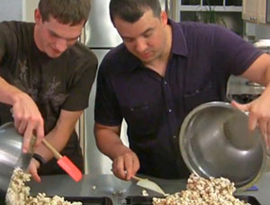 VIDEO: How to Make Ginger Peanut Caramel Corn