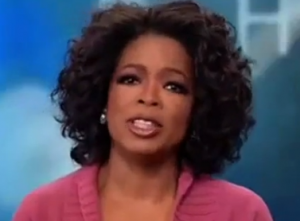 VIDEO:  Oprah and the Yelling Goat