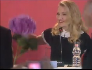 VIDEO: Madonna Loathes Hydrangeas