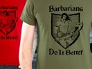 Marcus and Michele Bachmann Don't Want You to Buy This T-Shirt - Barbarians Do It Better