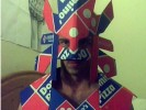 PHOTO: Sexy Aztec Domino's Pizza Guy