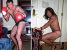 Oscar De La Hoya Admits to Wearing Fishnets, Panties