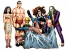 DC Comics Superheroes as Rocky Horror Picture Show